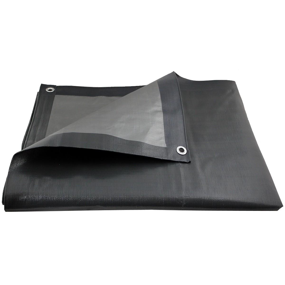 Bâche de protection ultra résistante - 200 g/m² - 3 x 5 mètres