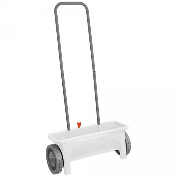 Épandeur à engrais ou gazon sur roues - 12 litres