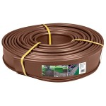 Bordure de jardin marron - 12,5 cm x 18 mètres