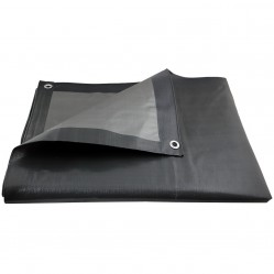 Bâche de protection ultra résistante - 200 g/m² - 5 x 6 mètres