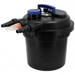 Filtre de bassin à pression 15 W - Débit max 9000 litres/heure