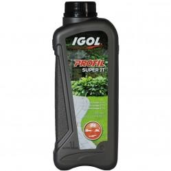 Huile pour moteur 2 temps IGOL spéciale motoculture - 1 litre