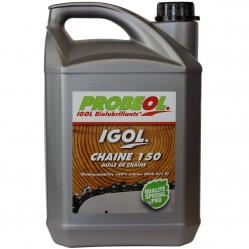 Huile de chaîne filante bio IGOL pour tronçonneuse et élagueuse - 5 litres