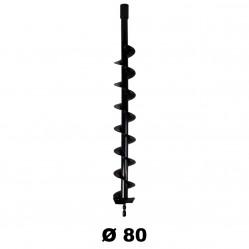Mèche Ø 80 mm pour tarière thermique